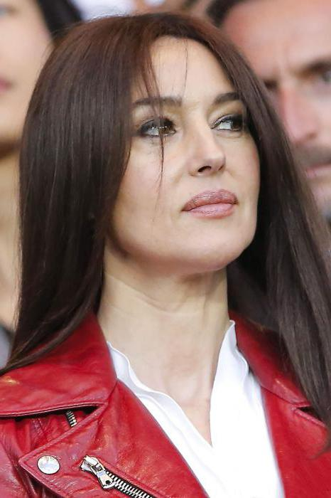 Monica Bellucci ohne Make-up und